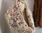 Knitting Pattern / Super Bulky Chunky Oversized Cowl Neckwarmer / Damspiel / PDF Digital Download