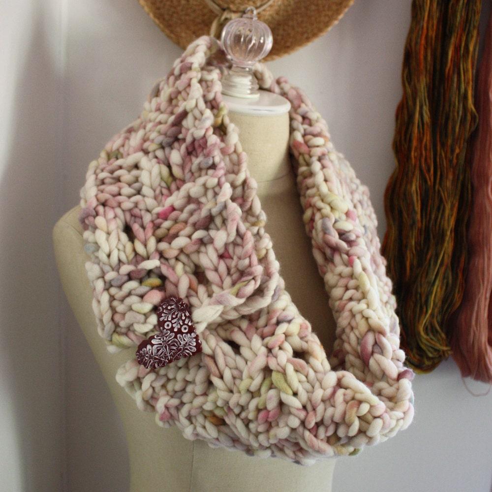 Super Chunky Knitting Patterns : Knitting Pattern / Super Bulky Chunky Oversized Cowl