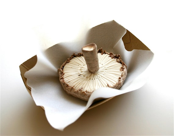 Chocolate-Filled Candy Mushrooms  3 LifeSize -Featured in Urban Outfitters