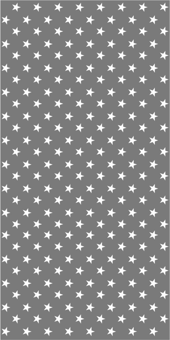 Vinyl wallpaper self adhesive dark grey with white stars for Gray vinyl wallpaper