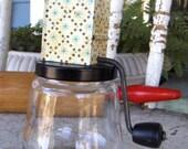 Androck Androck Nut Grinder Vintage Kitchen Chopper Jar ~ epsteam vestiesteam thebestvintage ~