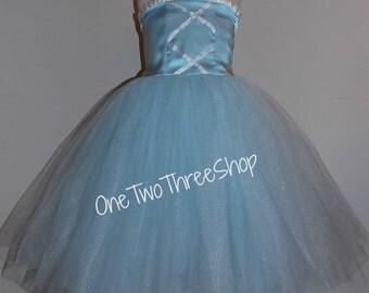 Cinderella Inspired Dress Custom Boutique Clothing Sassy Girl