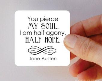 you pierce my soul Jane Austen magnet