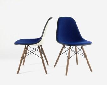Eames for Herman Miller Dining Dowel Base Side Chair-DSW (Set of 2)