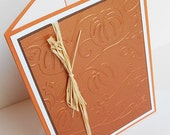 Thanksgiving Greeting Cards: Handmade Blank Note Card  {Batch No.3} - The Pumpkin Patch