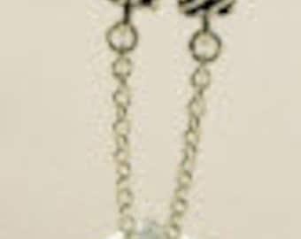 Safety Chain Threaded - European Big Hole Bracelet