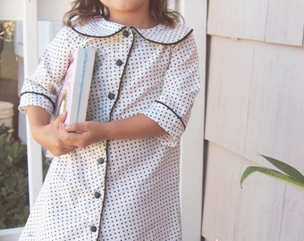 INSTANT DOWNLOAD- Madeline Dress (Size 12/18 to Size 8) PDF Sewing Pattern and Tutorial