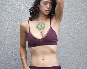 Sale Studded mesh bra