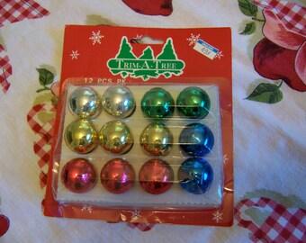 trim a tree miniature glass ornaments