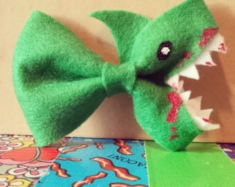 Zombie Shark Bow (Made To Order)