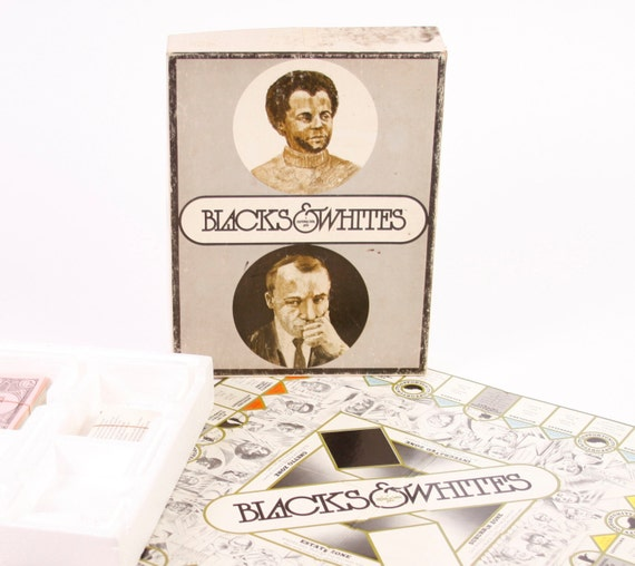 Rare Board Game- Blacks & Whites Psychology Today Racial Identity Board Game Complete