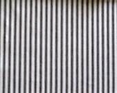 CLASSIC TICKING Black and White multipurpose fabric