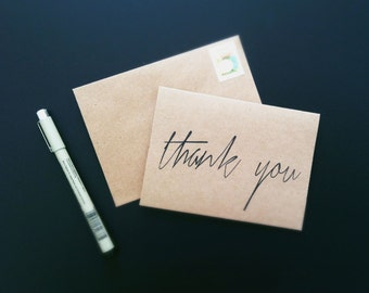 50 Thank You Cards Script