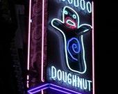 Photo of VOODOO DOUGHNUT neon sign