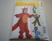 Pattern Costume Toddler Monster Outfits 4 Styles Sizes 1-2-3  McCalls 6185