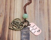 2014 MOTHER design! With optional matching daughter necklace - wherever you are my love will find you