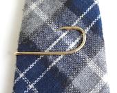 Gold FISH HOOK Tie Bar / Tie Clasp / Tie Clip