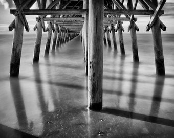 2nd Ave Pier in Myrtle Beach, South Carolina - Fine Art Photograph 5x7 8x10 11x14 16x20 24x30