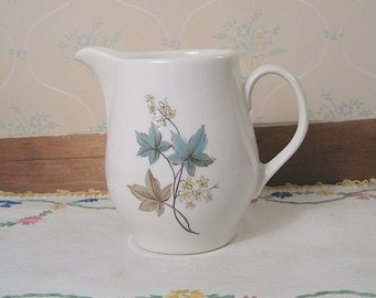 "Carefree True China by Syracuse Creamer in the ""Woodbine"" Pattern"