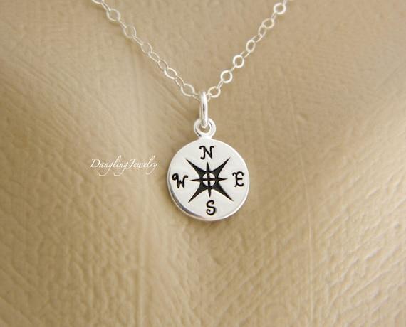 college graduation gift compass necklace best friend