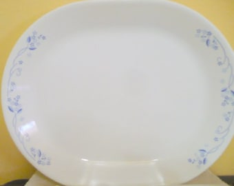 Corelle ( Corning ) -  Provinical Blue Floral Serving Platter