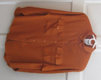 Shirt Women's Size Large Long Sleeve Pumpkin Together Collection by Spiegel