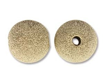 Stardust-4mm Bead Round-Gold Filled-14K-Quantity 12