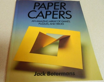 Paper Capers games puzzles and tricks 1986