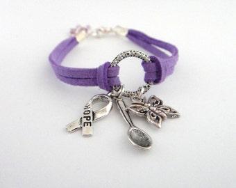 Osaxy Lupus Diva Suede Bracelet