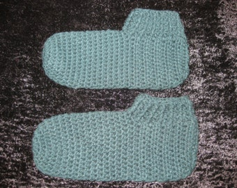 Crocheted Slippers Houseshoes Extra Large XLT Assorted Colors