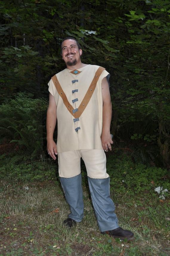 Mens Native American Wedding Suit