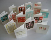 Greeting Cards - Your Choice of 5