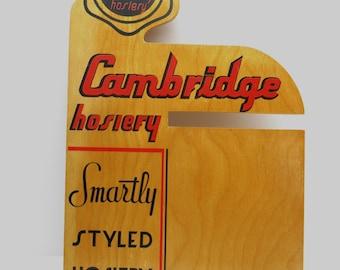 Vintage  Nylon Advertising Sign