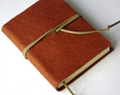 Pocket Leather Journal LINED paper Small Diary Jotter Leather Gift for Writer Pick Your COLOR Gift for Writer
