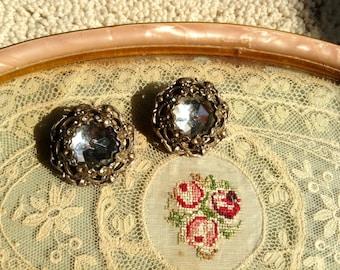 1970 large clip earrings