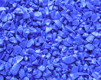 1 oz Lapis Blue Opal Glass Frit 96 Coe For Lampwork Glass Beads Fused Glass G-120