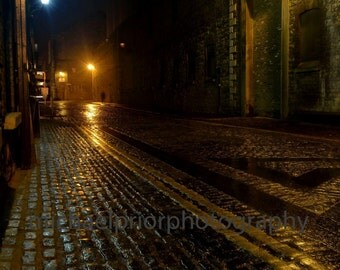 cobbled streets of old dublin