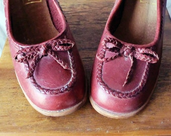 Adorable Oxblood Heels by Nanette Originals