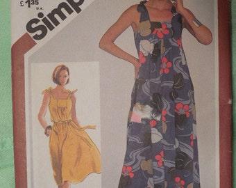 Simplicity 5383  vintage  misses