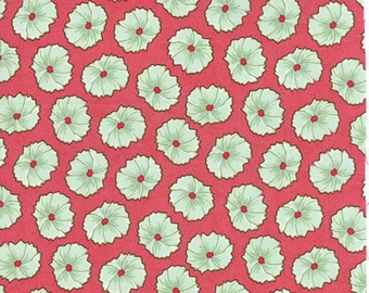 Pedal Pushers - Blossom in Raspberry by Lauren + Jessi Jung for Moda Fabrics