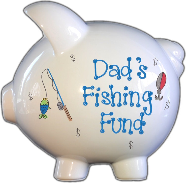 Grown up piggy bank perfect for dad happy father 39 s day Decorative piggy banks for adults