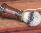 Soft Stripe Men's Shaving Brush with Boars Hair Bristles