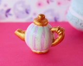 1/12TH scale cute miniature teapot for your dollhouse