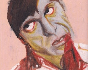 Portrait of Zombie from Dawn of the Dead