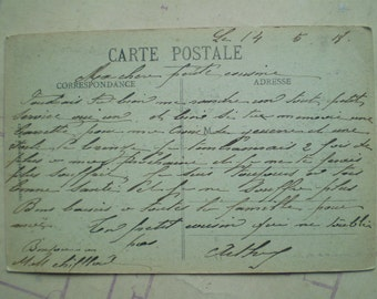 Epernay - 1918 - Antique French Postcard