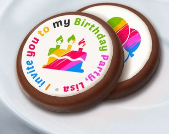 Chocolate Coins, Chocolate,Party Favors,Birthday,Sweet Sixteen,Mitzvah,Parties, Birthday,Cupcakes