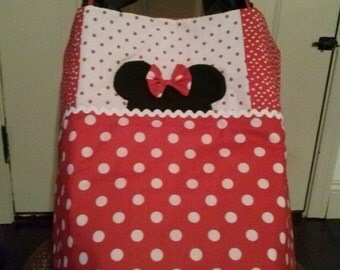 Minnie Mouse Stroller Quilt