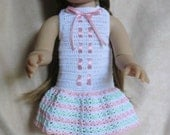 K8 – Pastel Summer Outfit - Crochet pattern for Kidz N' Cats Dolls