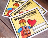Valentine Collection. BLOCK GUY. DiGITAL DOWNLOAD. DiY Printable Design. Pinkadot Shop