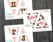 Cowgirl  Birthday Banner  / Cowgirl Party / Cowgirl Party Printables / Cowgirl Party Favors / Cowgirl Party Sign /  INSTANT DOWNLOAD